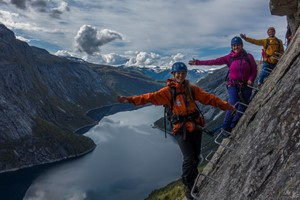 Trolltunga Via Ferrata - Odda, Norway