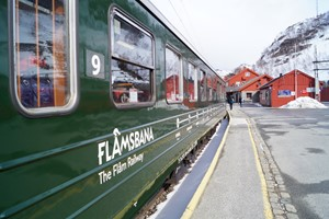The Flam railway  - Sognefjord in a nutshell winter tour by Fjord Tours - Flåm, Norway