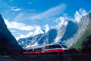 Experience the Rauma Railway with Fjord Tours on the Epic Fjord & Rail tour  - Åndalsnes, Norway