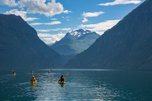 Kayak tour to the hidden UNESCO fjord