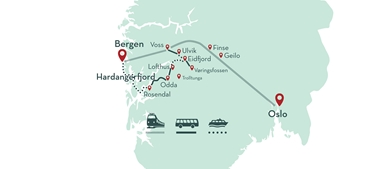 Rosendal and Trolltunga tour
