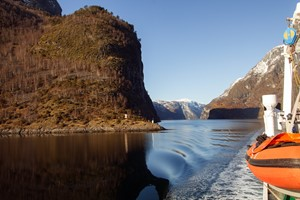 Explore the Nærøyfjord on the Norway in a nutshell® winter tour by Fjord Tours - Flåm, Norway