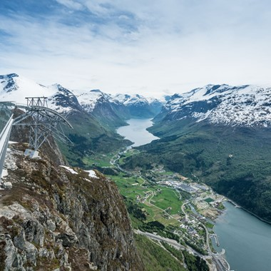 Experience Loen Skylift with Fjord Tours on the Epic Fjord & Rail tour  - Loen, Norway