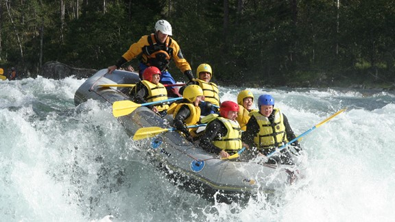 Wildwasser Rafting in Voss