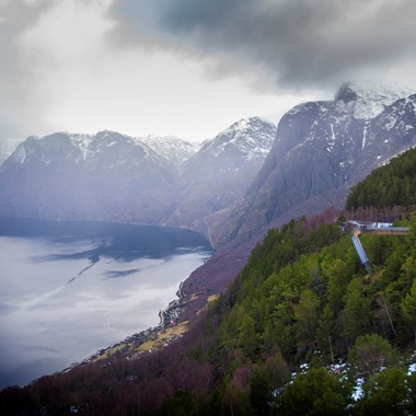 The Aurlandsfjord - Norway in a nutshell® winter tour by Fjord Tours - Aurland, Norway