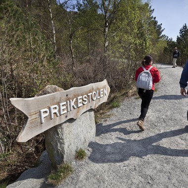 Hike to Preikestolen - Stavange r- Norway
