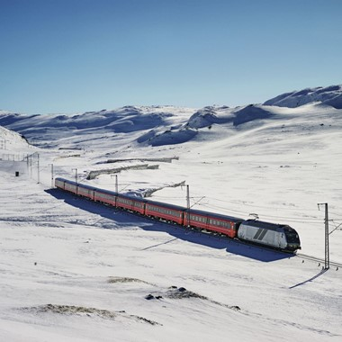 Winter on the Bergen Railway - Hardangerfjord in a nutshell winter tour by Fjord Tours - Bergen, Norway