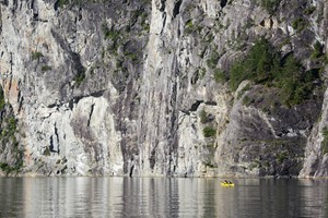 Kayaking to the hidden UNESCO fjord -  Valldal, Norway