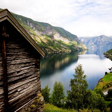 Experience the Nærøyfjord on the Norway in a nutshell® tour