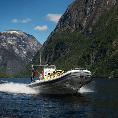Basic fjord safari in Flåm
