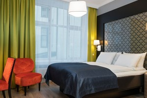 Standard double room at Thon Hotel Spectrum - Oslo, Norway