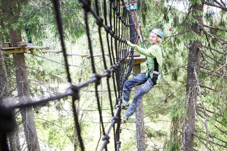 Voss High Ropes & Zip-line park