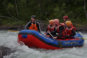 Wildwasser Rafting in Dagali Geilo