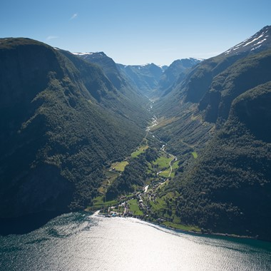 The Naeroyfjord