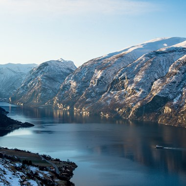 Winter on the Sognefjord - Sognefjord in a nutshell winter tour by Fjord Tours - Sognefjord, Norway