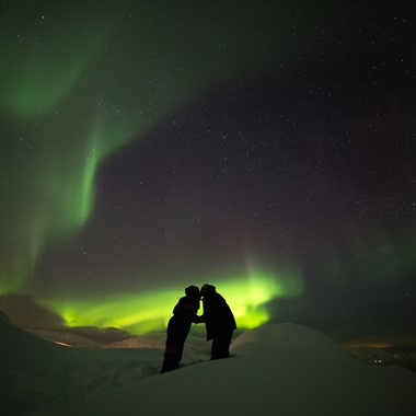 Experience the Norther Lights on the Northern Lights & Norway in a nutshell® tour , from Oslo and Bergen, Norway