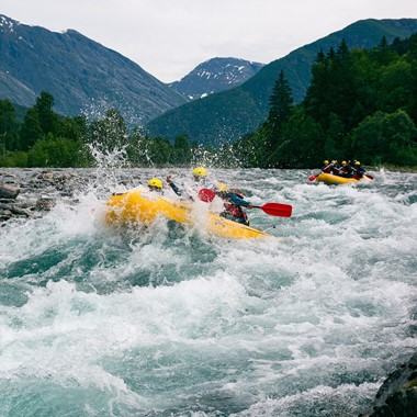 Wildwasser Rafting in Valldal