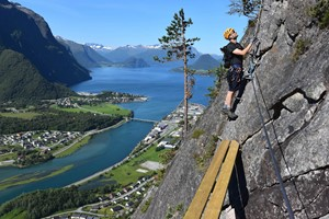 On the West Wall, Åndalsnes  - Norway