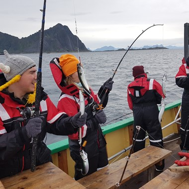 Lofoten Fishing from Svolvær