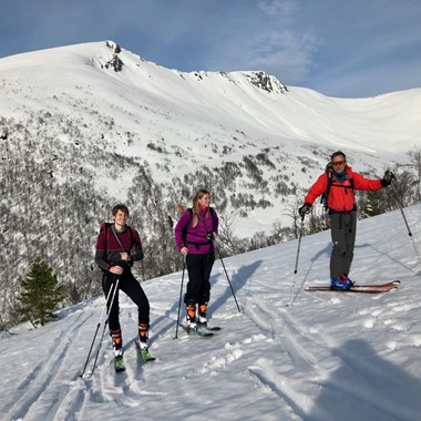 Introduction to Randonèe skiing in Romsdalen