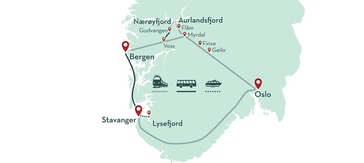 Fjord Tours Maps And Information Fjord Tours