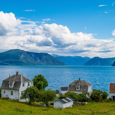 Experience Sogndal on the Sognefjord & Nærøyfjord in a nutshell tour by Fjord Tours - Sogndal, Norway