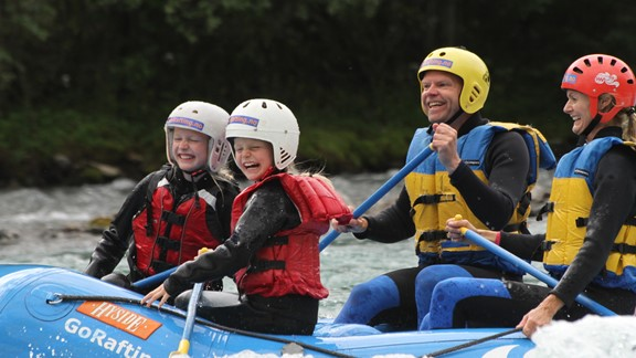 Sjoa Family Rafting