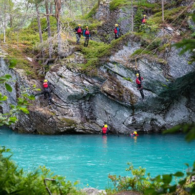 Canyoning in Valldal