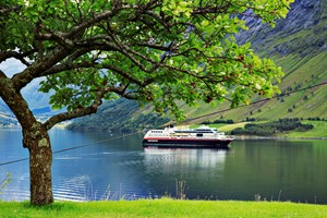 Experience the Hjørundfjord and Hurtigruten on the Hjørundfjord & Norway in a nutshell® tour, from Bergen, Ålesund and Oslo, Norway